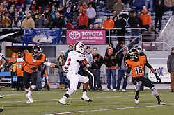 Isheem Young of Imhotep Panthers in action at the December 18, 2015 PIAA 3A State Championship at Hersheypark Stadium. (photo by Bastiaan Slabbers)