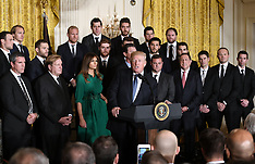 U.S. President Trump greets the Pittsburgh Penguins - 10 Oct 2017