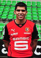 Silvio ROMERO - 19.09.2013 - Photo officielle - Rennes - Ligue 1<br /> Photo : Philippe Le Brech / Icon Sport