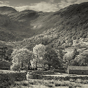 Dovedale from the Kirkstone pass, Lake district, Cumbria