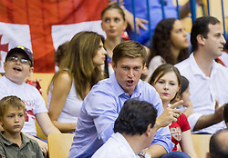 Vladimir Boisa during basketball match between National teams of Croatia and Georgia in Round 1 at Day 2 of Eurobasket 2013 on September 5, 2013 in Arena Zlatorog, Celje, Slovenia. (Photo by Vid Ponikvar / Sportida.com)
