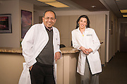Dr. Mohamed El-Tarabily and Dr. Maristela Batezini of the Hematology and Oncology department at Cheyenne Regional Medical Center in Cheyenne, Wyoming.