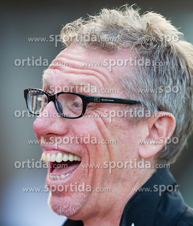 28.07.2014, Casino Stadion, Kitzbühel, AUT, Testspiel, FC Wacker Innsbruck vs 1. FC Köln, im Bild Peter Stöger (Trainer, 1. FC Köln) // during a Friendly Match between FC Wacker Innsbruck and 1. FC Köln at the Casino Stadium, Kitzbühel, Austria on 2014/07/28. EXPA Pictures © 2014, PhotoCredit: EXPA/ JFK