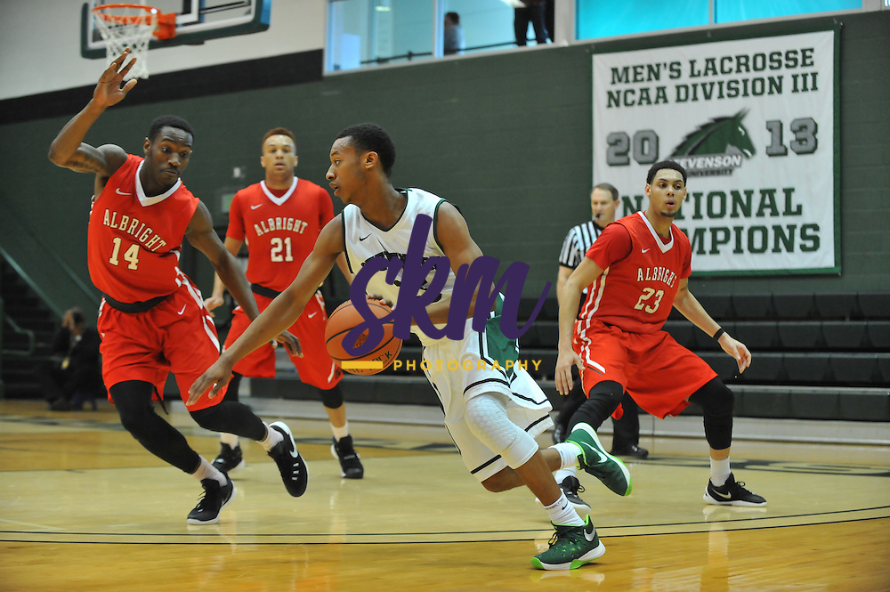 SU Men's basketball drops a close game to Albright, losing 59-65 Saturday afternoon at Owings Mills gymnasium.