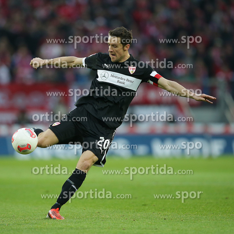 15.12.2012, Coface Arena, Mainz, GER, 1. FBL, 1. FSV Mainz 05 vs VfB Stuttgart, 17. Runde, im Bild Christian GENTNER (VfB Stuttgart Kapitaen - 20) Freisteller // during the German Bundesliga 17th round match between 1. FSV Mainz 05 and VfB Stuttgart at the Coface Arena, Mainz, Germany on 2012/12/15. EXPA Pictures © 2012, PhotoCredit: EXPA/ Eibner/ Gerry Schmit..***** ATTENTION - OUT OF GER *****