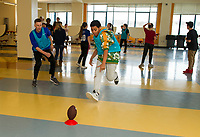 Laconia Middle School after school Nike Ambassador program.  Karen Bobotas for the Laconia Daily Sun