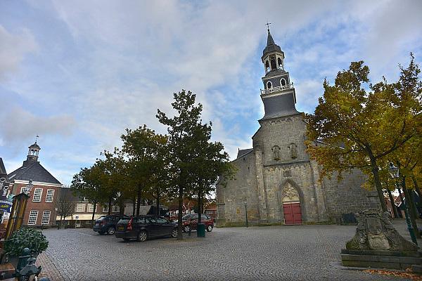 Nederland, Ootmarsum, 5-11-2012Het kunst en galeriedorp. Op de kaart gezet door kunstenaar en ondernemer Ton Schulten. In het oude centrum van dit stadje bevinden zich veel galeries met een hoge kwaliteit kunst.Foto: Flip Franssen/Hollandse Hoogte