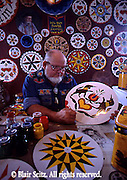 Kutztown PA Dutch Festival, Berks Co PA, Crafts, Hex Signs Painting