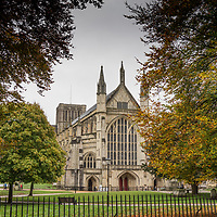 Winchester Cathedral in Hampshire England