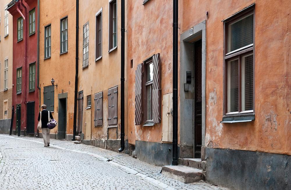 Street in Gamla Stan, Stockholm, Sweden
