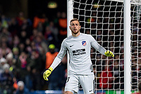 LONDON,ENGLAND - DECEMBER 05: Atletico Madrid (13) GK Jan Oblakduring the UEFA Champions League group C match between Chelsea FC and Atletico Madrid at Stamford Bridge on December 5, 2017 in London, United Kingdom.  <br /> ( Photo by Sebastian Frej / MB Media )