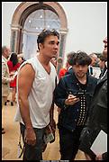 DAVID LACHAPELLE; ; HUGO MARTINEZ;, Royal Academy of Arts Summer Exhibition 2014. Piccadilly. London. 4 June 2014.