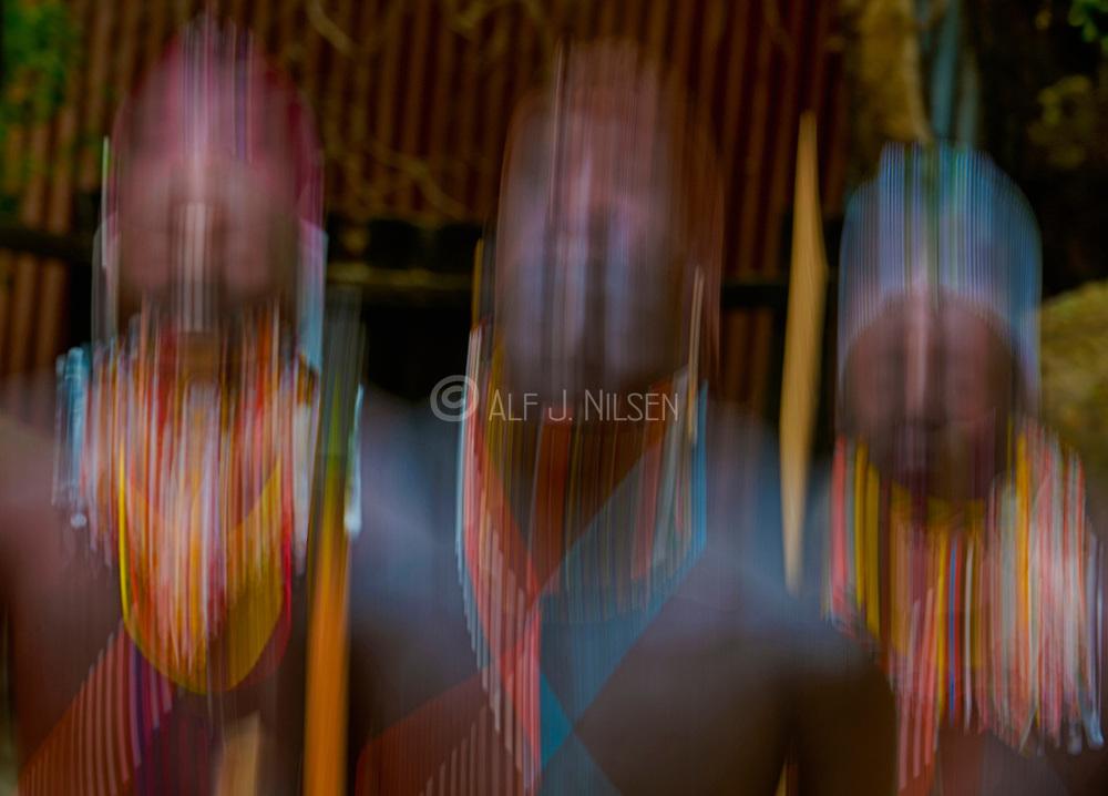 Dancers from the Samburu tribe, Kenya.
