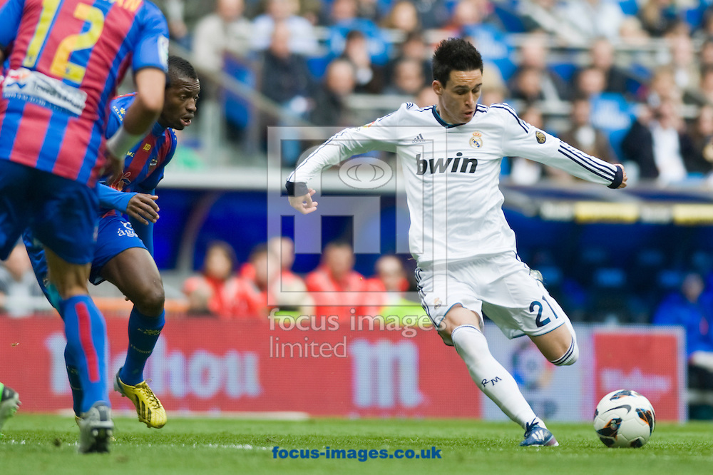 Picture by Marcos Calvo Mesa/Focus Images Ltd +34 600474871.06/04/2013.José Callejón of Real Madrid during the La Liga match against Levante Unión Deportiva at the Estadio Santiago Bernabéu, Madrid.