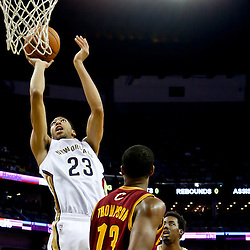 11-22-2013 Cleveland Cavaliers at New Orleans Pelicans