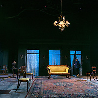 Ivanov by Anton Chekhov;<br /> New version by David Hare;<br /> Directed by Jonathan Kent;<br /> The Set;<br /> Chichester Festival Theatre, Chichester, UK;<br /> 14 October 2015.