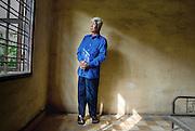 CAMBODIA / Phnom Penh<br /> Vann Nath , Survivor from S21 Pol Pot Prison<br /> <br /> &copy; Daniele Mattioli / Anzenberger