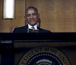 Barack Obama beim Empfang im Weissen Haus zur Einweihung des neuen Museums für Afroamerikanische Geschichte und Kultur in Washington <br /> <br /> / 240916<br /> <br /> *** Opening ceremony of the Smithsonian National Museum of African American History and Culture on September 24, 2016 in Washington, DC ***