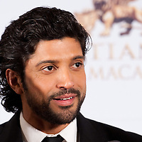 MACAU, MACAO - JANUARY 21:  Indian actor Farhan Akhtar attends red carpet during the Zee Cine Awards 2012 ceremony at The Venetian Macao-Resort-Hotel on January 21, 2012 in Macau.  Photo by Victor Fraile / studioEAST