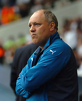 Photo: Tony Oudot.<br /> Tottenham Hotspur v Derby County. The FA Barclays Premiership. 18/08/2007.<br /> Martin Jol the Tottenham manager