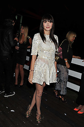 ANNABELLE NEILSON at a party hosted by Rimmel London to celebrate the 10 year partnership with Kate Moss held at Battersea Power Station, London SW8 on 15th September 2011.