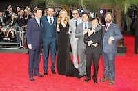 Ed Helms; Bradley Cooper; Heather Graham; Todd Phillips; Justin Bartha; Ken Jeong; Zach Galifianakis, The Hangover III European Film Premiere, Empire Cinema Leicester Square, London UK, 22 May 2013, (Photo by Richard Goldschmidt)
