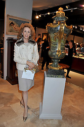 LADY WOLFSON OF MARYLEBONE at a preview evening of the annual London LAPADA (The Association of Art & Antiques Dealers) antiques Fair held in Berkeley Square, London on 20th September 2011.
