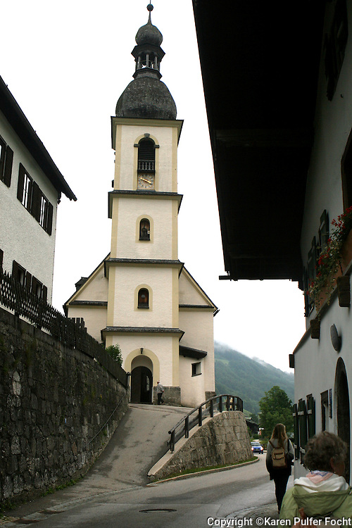 Travel in Ramsau in Bavaria, Germany near the Austrian border. It is situated in the heart of the Bavarian Alps.