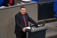 DEU, Deutschland, Germany, Berlin, 02.02.2018: Dr. Klaus-Peter Schulze (CDU) bei einer Rede im Deutschen Bundestag.