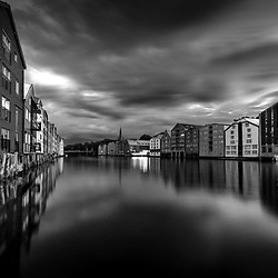 Trondheim in Black and White