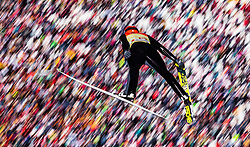 28.02.2019, Seefeld, AUT, FIS Weltmeisterschaften Ski Nordisch, Seefeld 2019, Nordische Kombination, Skisprung, im Bild Johannes Rydzek (GER) // Johannes Rydzek of Germany during the Ski Jumping competition for Nordic Combined of FIS Nordic Ski World Championships 2019. Seefeld, Austria on 2019/02/28. EXPA Pictures © 2019, PhotoCredit: EXPA/ JFK