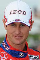 Ryan Hunter-Reay, Road Runner Turbo Indy 300, Kansas Speedway, Kansas City, KS USA  5/1/2010