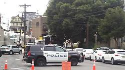 September 3, 2017 - Fort Lee, NJ, United States - Police-involved shooting outside of 485 Summit Avenue in Fort Lee, NJ on September 3, 2017. (Credit Image: © Kyle Mazza/NurPhoto via ZUMA Press)