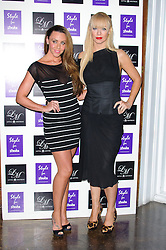 Michelle Heaton and Liz McClarnon at Style for Stroke - launch party held at No. 5 Cavendish Square, London, England, October 2, 2012. Photo by Chris Joseph / i-Images.