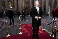 Nederland. Den Haag, 18 september 2007.<br /> Prinsjesdag. Minister Wouter Bos bij aankomst op het Binnenhof.<br /> Foto Martijn Beekman <br /> NIET VOOR TROUW, AD, TELEGRAAF, NRC EN HET PAROOL