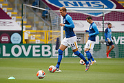 Brighton and Hove Albion defender Dan Burn (33) warming up during the Premier League match between Burnley and Brighton and Hove Albion at Turf Moor, Burnley, England on 26 July 2020.