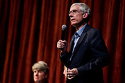 Superintendent of Public Instruction of Wisconsin Tony Evers speaks during the public forum for Democratic gubernatorial candidates at LaFollete High School in Monona, Wisconsin, Sunday, Jan. 28, 2018.