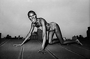 Grace Jones NY roof session