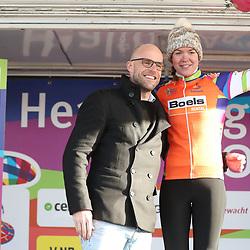 05-04-2017: Wielrennen: Healthy Ageing Tour: Grijpskerk<br />GRIJPSKERK (NED) wielrennen  <br />Anna van der Breggen