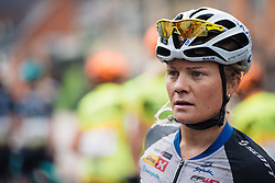 Emilie Moberg (Hitec Products) at Aviva Women's Tour 2016 - Stage 2. A 140.8 km road race from Atherstone to Stratford upon Avon, UK on June 16th 2016.