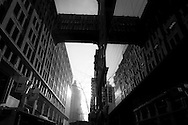 New York. 32 nd street, elevated passageway.