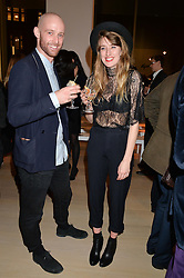 Josh Vyvyan and Shannon Leigh at Fashions for The Future presented by Oceana's Junior Council held at Phillips Auction House, 30 Berkeley Square, London on 19th March 2015.