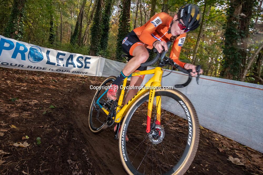 02-11-2018: Wielrennen: EK veldrijden Masters: Rosmalen: Fleur Nagengast