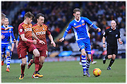 Joe Bunney during the Sky Bet League 1 match between Bradford City and Rochdale at the Coral Windows Stadium, Bradford, England on 20 February 2016. Photo by Daniel Youngs.