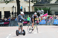 Chris Boardman, Tour de France London, Buckingham Palace, London UK, 07 July 2014, Photo by Richard Goldschmidt