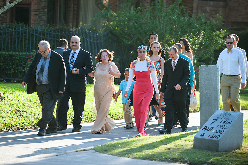 Rheem and Sina's wedding Saturday, May 26, 2012 in Houston..Photo © Wendi Poole