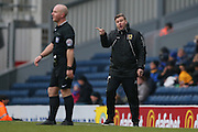 MK Dons manager Karl Robinson  during the Sky Bet Championship match between Blackburn Rovers and Milton Keynes Dons at Ewood Park, Blackburn, England on 27 February 2016. Photo by Simon Davies.