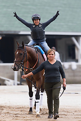Derby 142 hopefuls were on the track for training, Sunday, May 01, 2016 at Churchill Downs in Louisville.