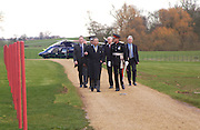 Prince Charles arriving at Compton verney, Official opening Compton Verney, 23 March 2004. ONE TIME USE ONLY - DO NOT ARCHIVE  © Copyright Photograph by Dafydd Jones 66 Stockwell Park Rd. London SW9 0DA Tel 020 7733 0108 www.dafjones.com