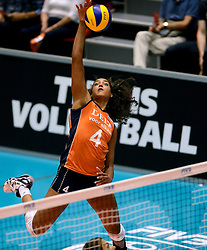 08-08-2014 NED: FIVB Grand Prix Nederland - Puerto Rico, Doetinchem<br /> Celeste Plak